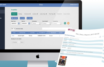 Site Diary construction web app