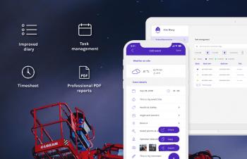 Site Diary app V2 improvements