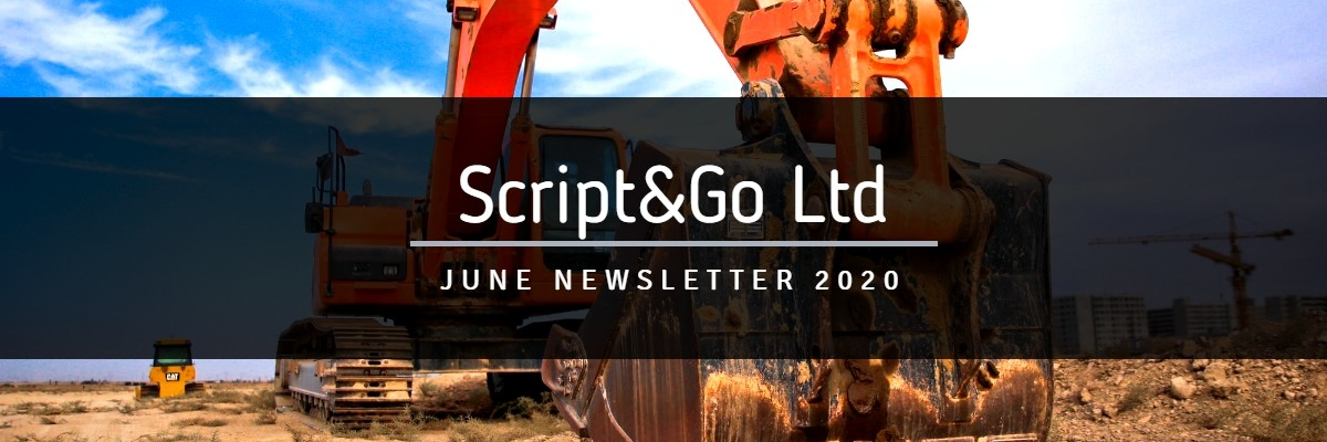 Script&Go June 2020 newsletter