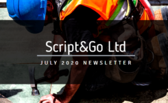 Script&Go July 2020 newsletter